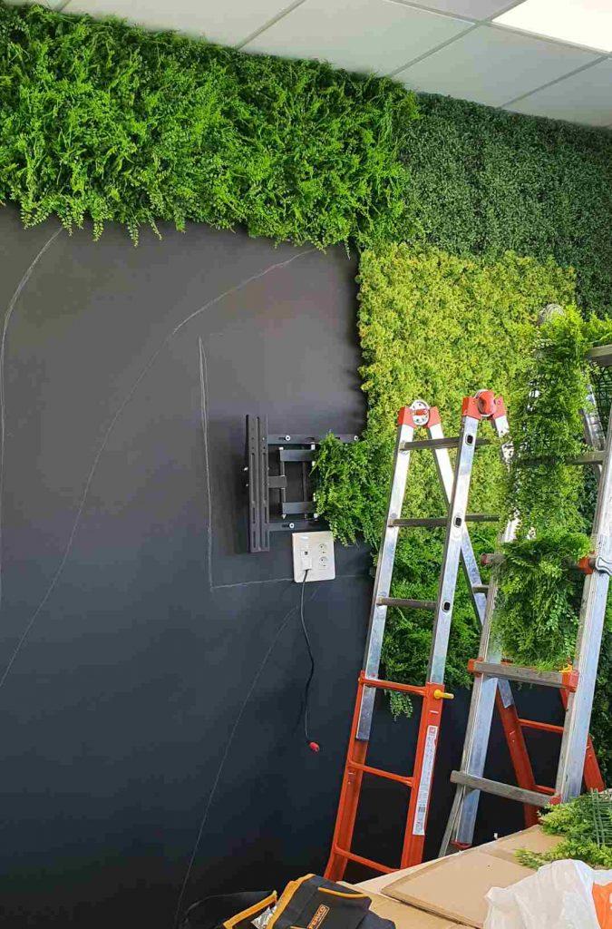 jardines verticales artificial en sevilla