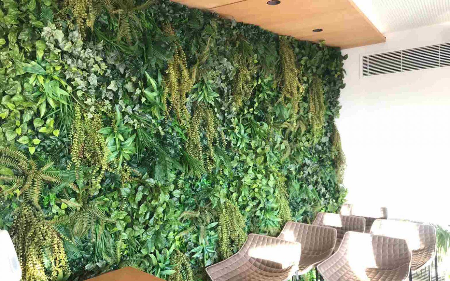 diseño de jardines verticales